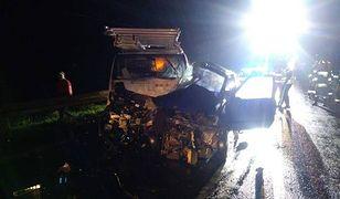 Rudka. Tragiczny wypadek na DK9. Nie żyje kierowca
