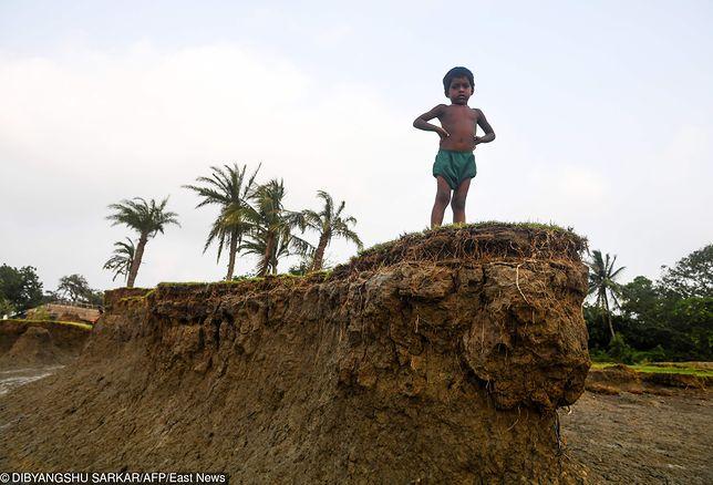 Wyspa Ghoramara znika pod wodą. Mieszkańcy spodziewają się najgorszego