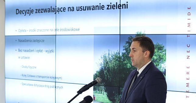 Wiceprezydent Gdańska Piotr Borawski zapowiedział zmiany w polityce dot. zieleni