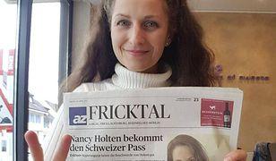 Nancy Holten cieszy się z uzyskanego w końcu obywatelstwa