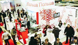 Stoisko Polski podczas tegorocznych targów MITT Moskwa