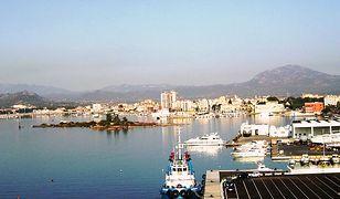 Miasto Olbia, widok portu