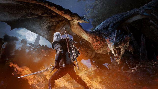 "Geralt będzie bohaterem ""Monster Hunter World"""