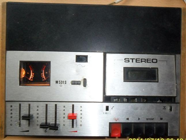 Magnetofon Unitra M 531S