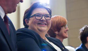 Elżbieta Bojanowska wzięła odpowiedzialność za proponowane zmiany w ustawie.