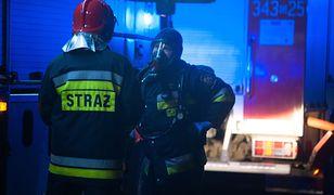Działdowo: pożar w hucie szkła. Jedna osoba nie żyje, 4 są ranne
