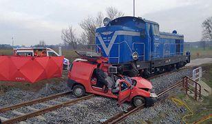 Drygały. Policja wyjaśnia okoliczności wypadku.