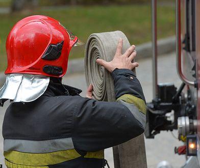 Pożar budynku dwurodzinnego w Wałczu. Nie żyją dwie osoby