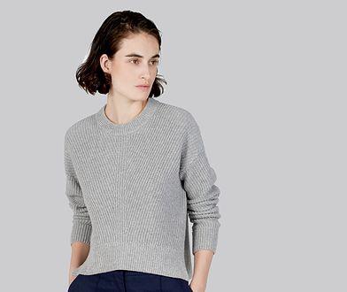TRENDY: szary sweter