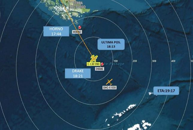 Chile. Samolot z 38 osobami na pokładzie zniknął z radarów