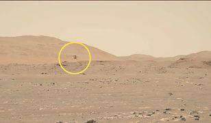 Marsjański helikopter odbył trzeci lot. Obserwował go łazik Perseverance