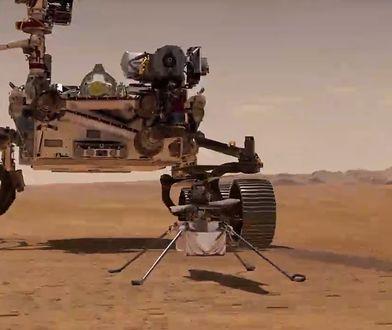 NASA udostępniła nowe nagranie z Marsa. Tak brzmi lot helikoptera Ingenuity