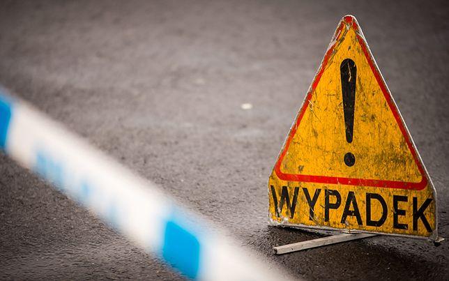 """Wypadek na krajowej """"7"""". Droga zablokowana"""