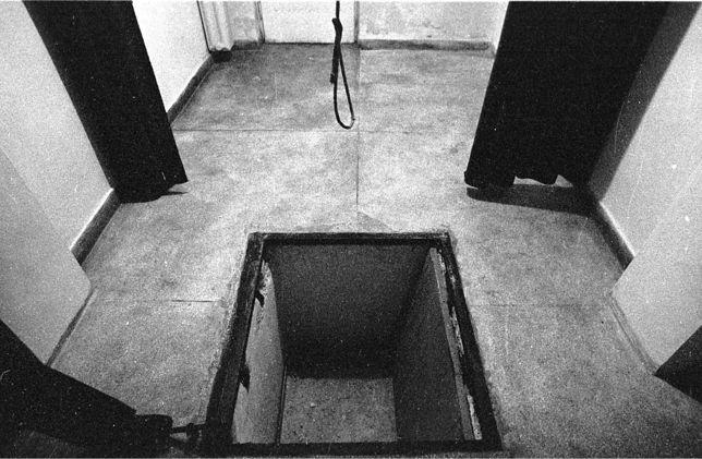 Cela śmierci w więzieniu w Łodzi