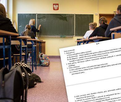 """Uczniowie ILO w Rzeszowie protestują. Chodzi o """"dress code"""". Sprawdziliśmy, co mówi o tym statut szkoły"""