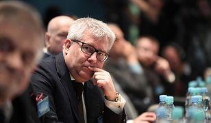 Ryszard Czarnecki może ponieść konsekwencje słów skierowanych do Róży Thun