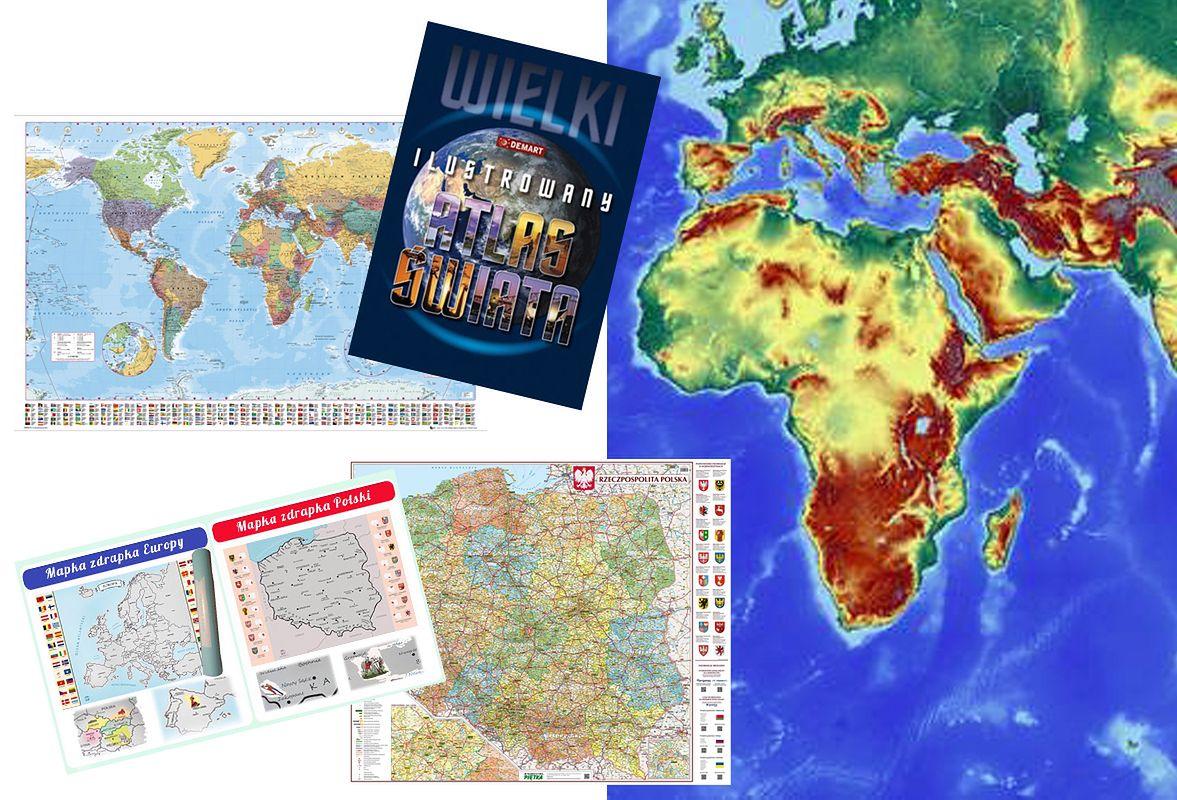 Prezent dla podróżnika. Najciekawsze mapy i przewodniki po świecie