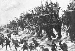 Mordercze i płochliwe słonie bojowe. Jak wykorzystywano te zwierzęta na polach bitew?