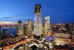 Widok z nowego World Trade Center