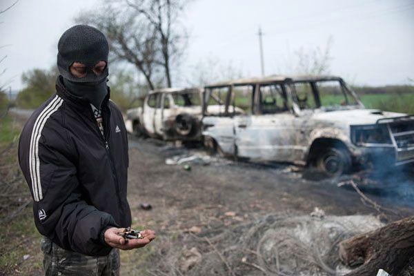 Strzelanina w Słowiańsku. Ukraina przyznaje: zginęły trzy osoby