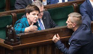 Beata Szydło (PiS) oraz Bartosz Arłukowicz (PO) - zdj. arch.
