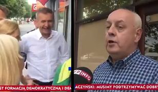 Mieszkaniec Węgrowa zapewnia o pomyłce Bartosza Arłukowicza.