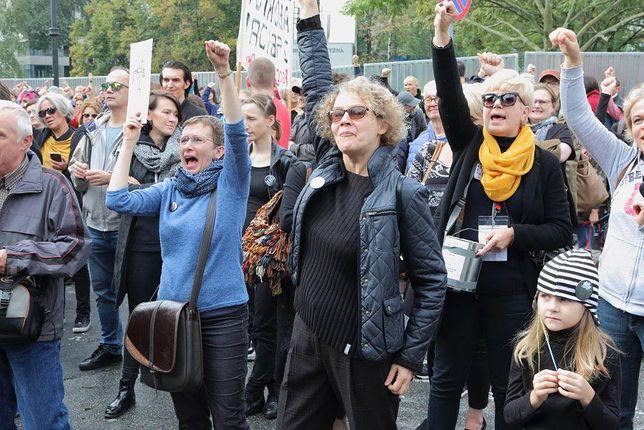 Strajk kobiet / Warszawa