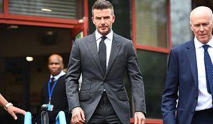 David Beckham stracił prawo jazdy na pół roku. Polskie ministerstwo komentuje
