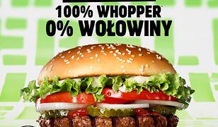 Burger King startuje z burgerami roślinnymi w Europie. Dostępne również w Polsce