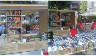 Mobilna biblioteka parkuje przy Chmielnej
