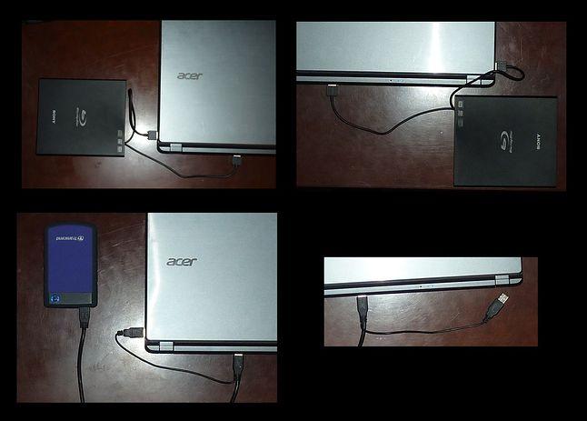 Acer Aspire V5-573PG - rozmieszczenie portów USB