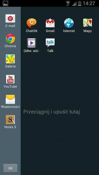 Kilka aplikacji Multi Window