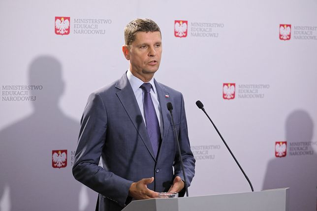 Minister edukacji narodowej Dariusz Piontkowski