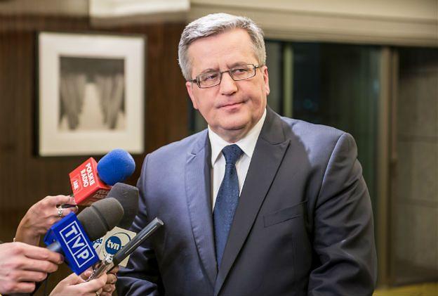 """Bronisław Komorowski: prokuratura powinna zająć się sprawą """"Gęsiarki"""""""