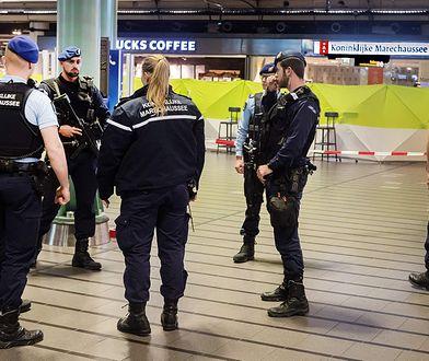 Amsterdam. Służby sprawdzają, do kogo należy walizka z ciałem