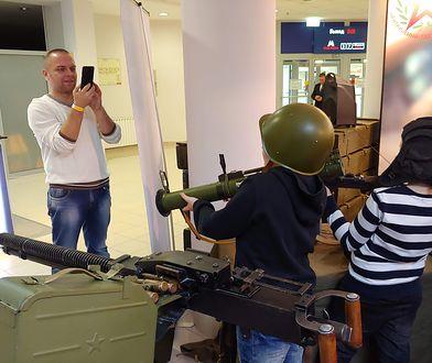 Na WG Fest 2018 swoje stoiska miała też rosyjska Armia, która prezentowała uzbrojenie