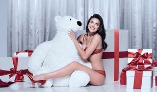 Irina Shayk w świątecznej kampanii Intimissimi