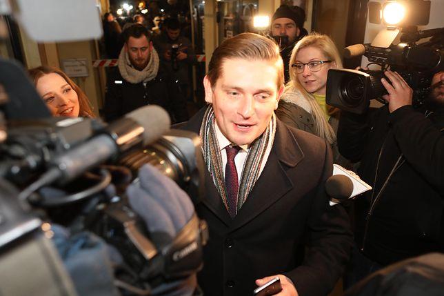 Wiceminister Bartosz Kownacki o wypadku wojskowego samolotu MiG-29