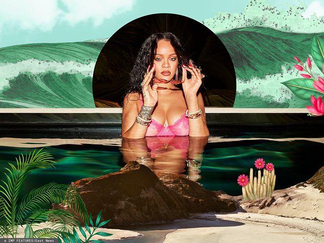 Rihanna znów kusi