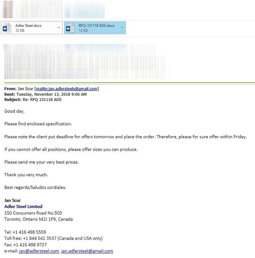 Taki sobie e-mail czyli jak się nie dać oszukać