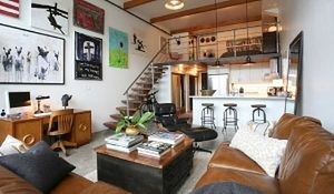 Antresola w mieszkaniu. Piękne wnętrza z antresolą