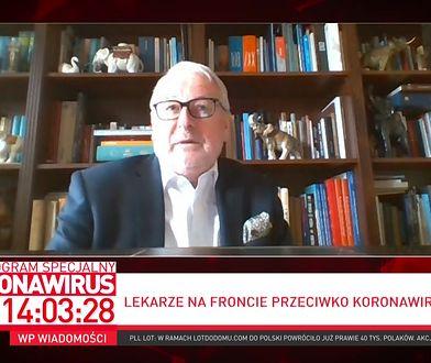 """Prof. Andrzej Matyja: """"kneblowanie ust"""" lekarzom doprowadziło do tej sytuacji"""