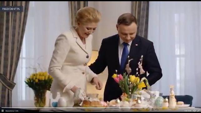 Wielkanoc 2019. Życzenia od pary prezydenckiej. Klimatyczne nagranie
