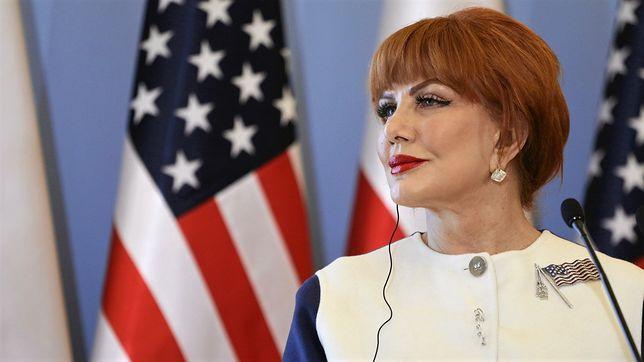 Była ambasador USA w Polsce Georgette Mosbacher