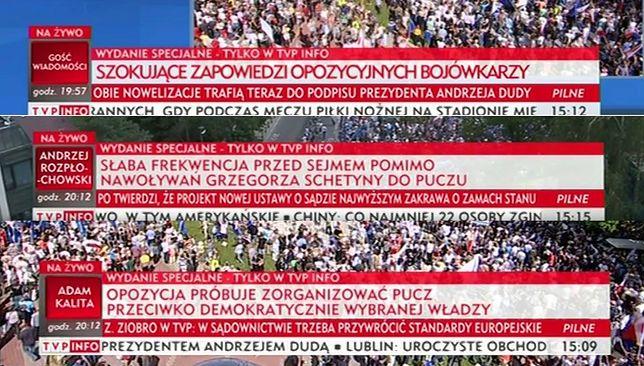 Paski TVP Info