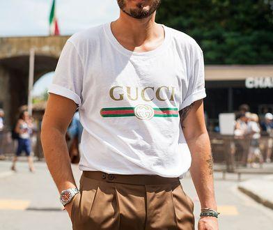 Coraz więcej Polaków nosi koszulki znanych marek
