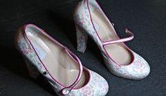 Różowe buty - trend na lato 2012!