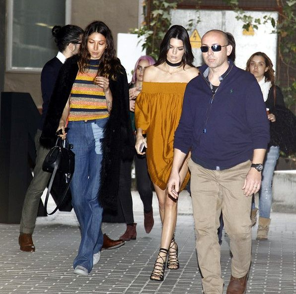 Kendall Jenner w Barcelonie