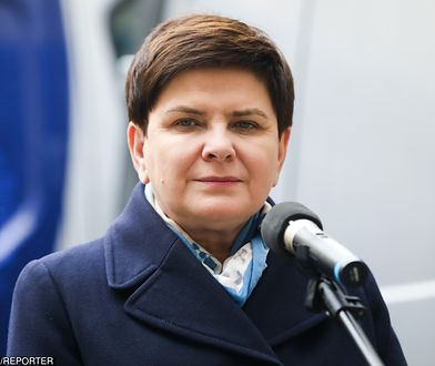 Beata Szydło postawiła na nowy element garderoby