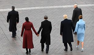 Michelle i Barack Obama, Donald i Melania Trump